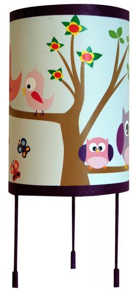 luminaire enfant lampe de chevet les oiseaux et les hiboux. Black Bedroom Furniture Sets. Home Design Ideas
