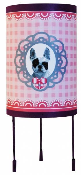 luminaire enfant lampe de chevet m daillon chien. Black Bedroom Furniture Sets. Home Design Ideas