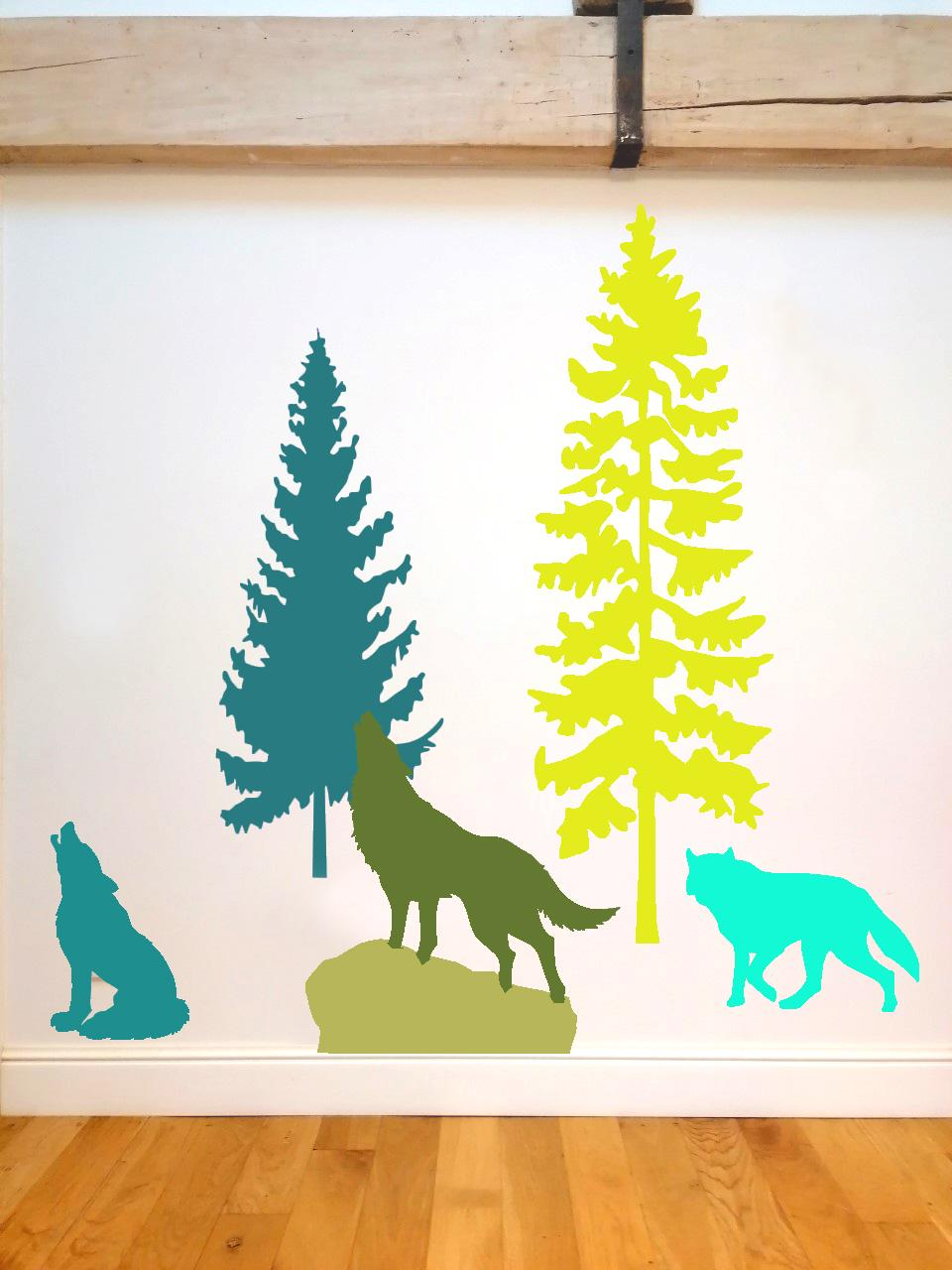 2 sapins 3 loups copie