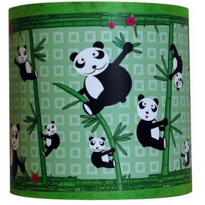 """Luminaire enfant Applique """" Les Pandas et les bambous"""""""