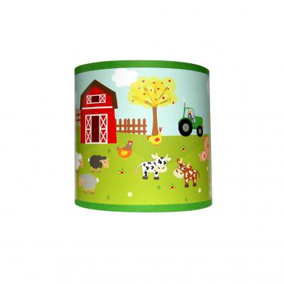 Luminaire enfant, Applique murale, thème animaux de la ferme.