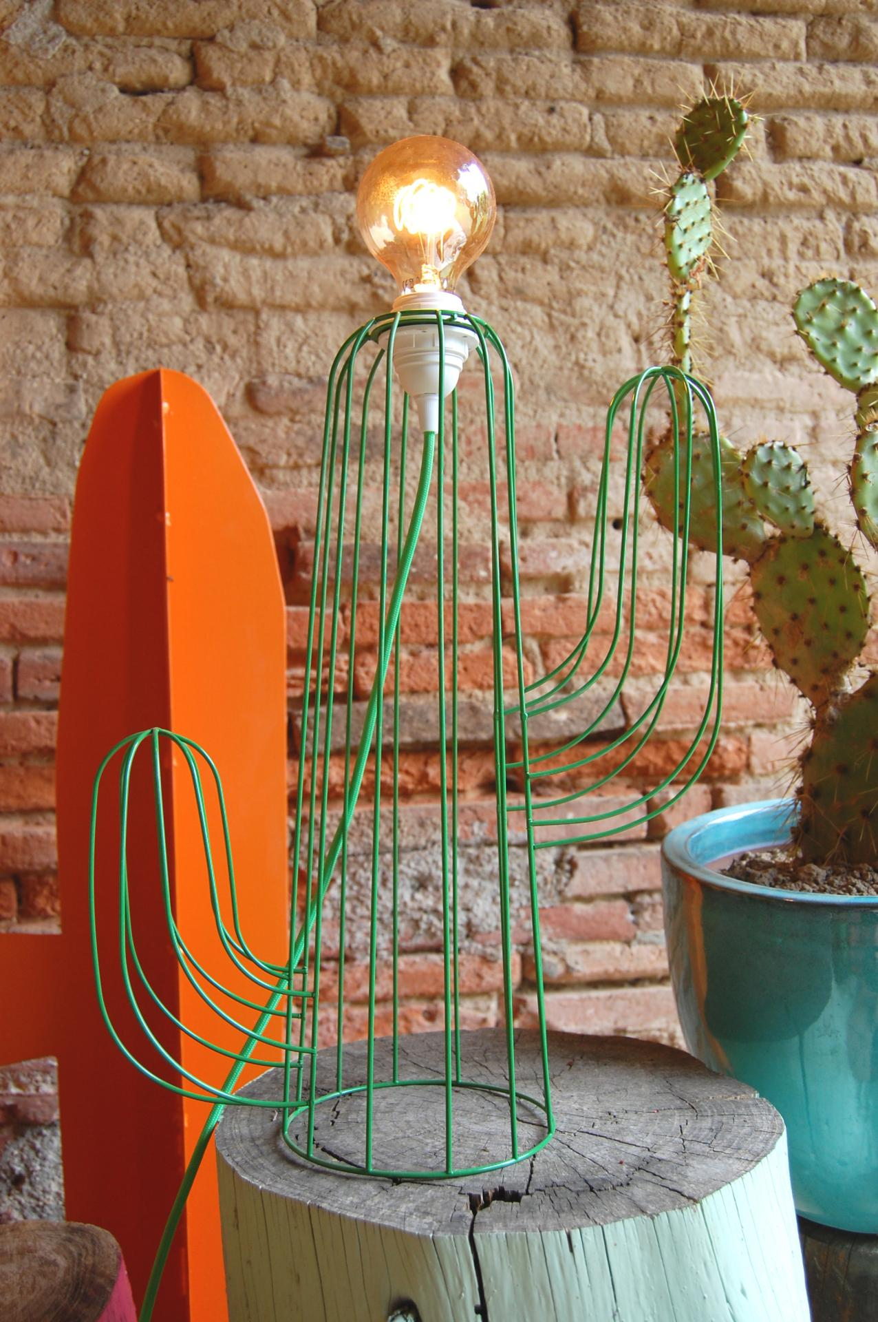 Cactus lampe 2