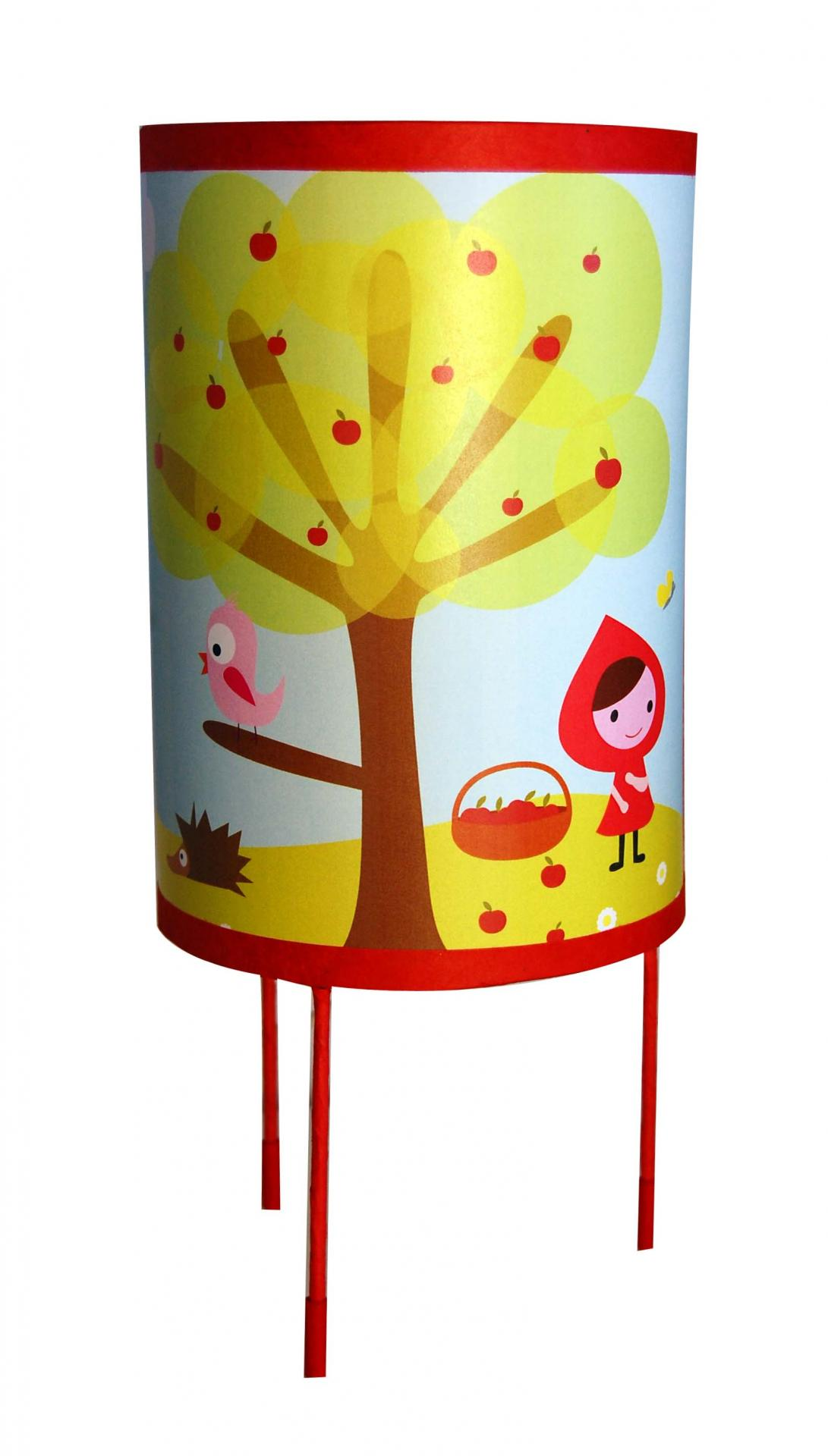 Chaperon rouge lampe