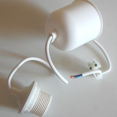 Système électrique pour suspension couleur blanc et plastique