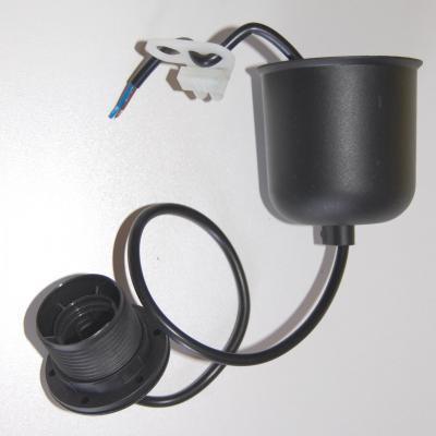 Système électrique pour suspension couleur noire et plastique