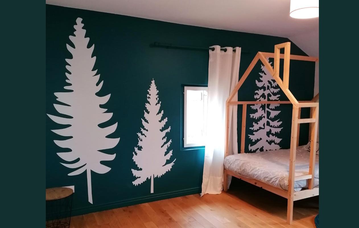 Decoration chambre enfant autocollant