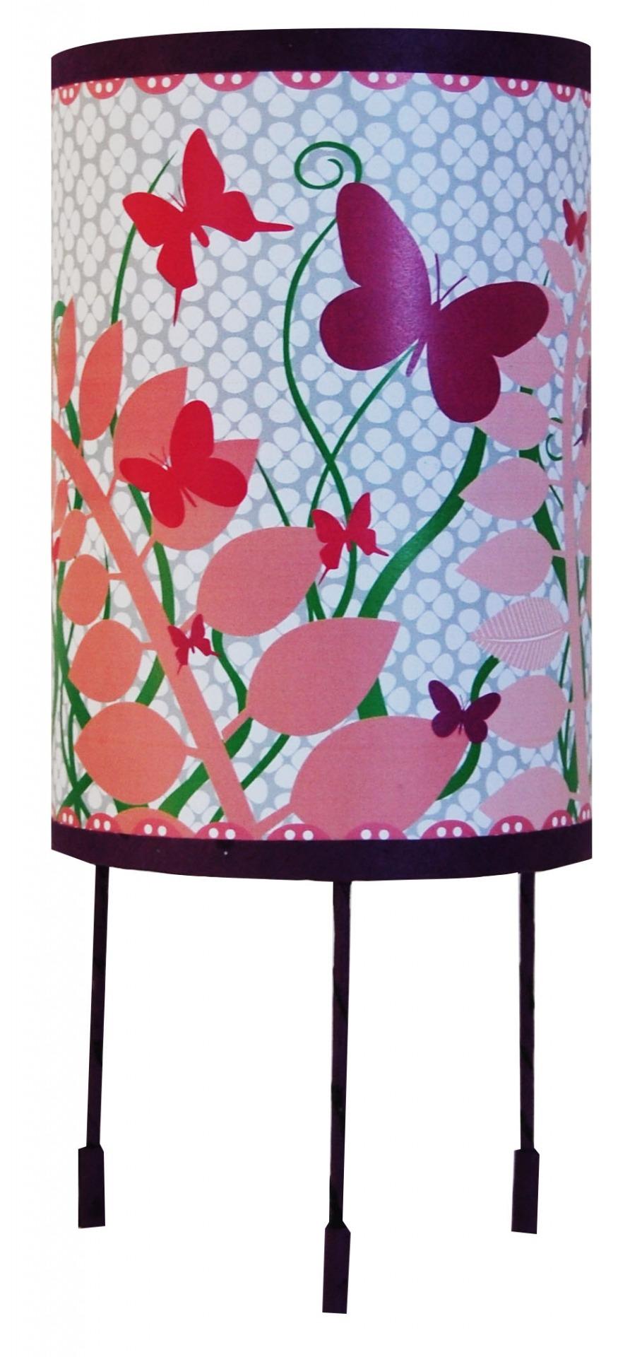 Decoration pour enfants luminaire enfant lampe de chevet nu 3082685 papillon lamp 8870c big