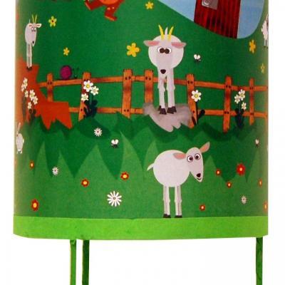 Luminaire enfant Lampe de chevet Tous à la campagne