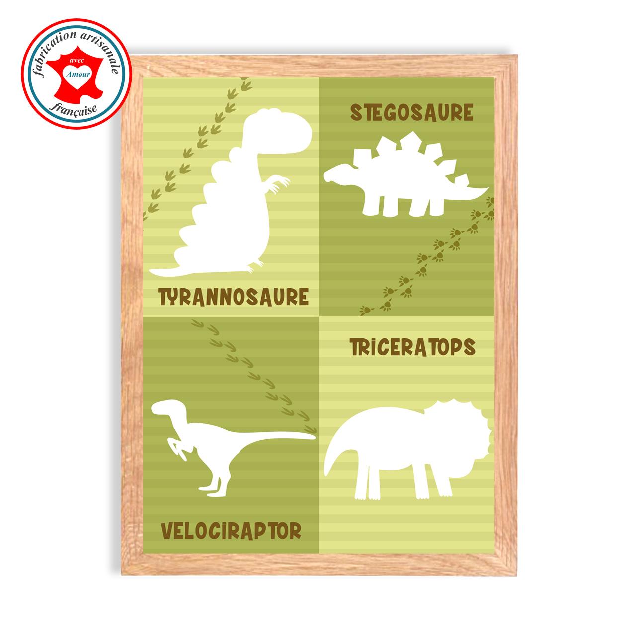 Dinosaures tableau