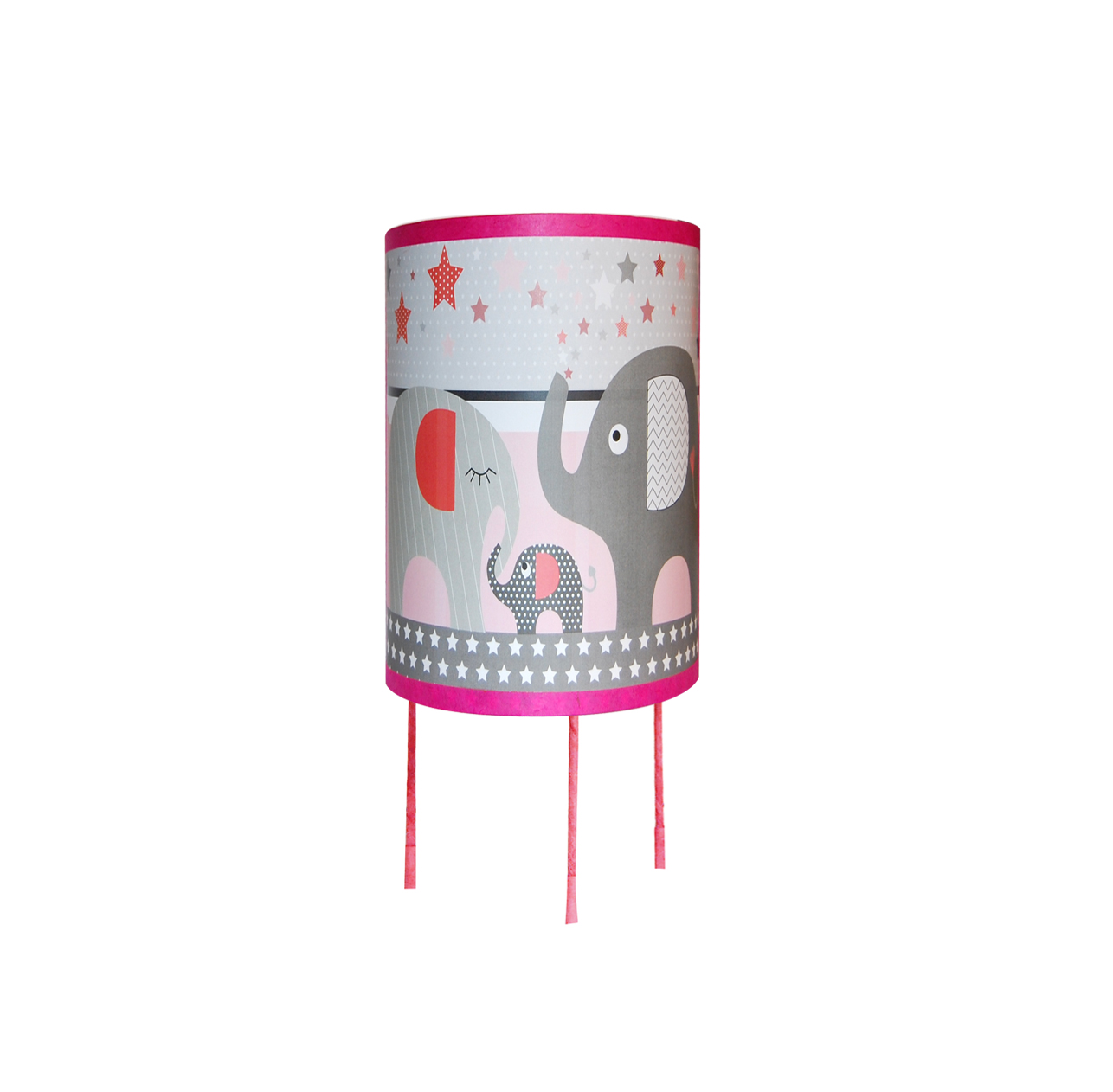 Elephant rose lampe