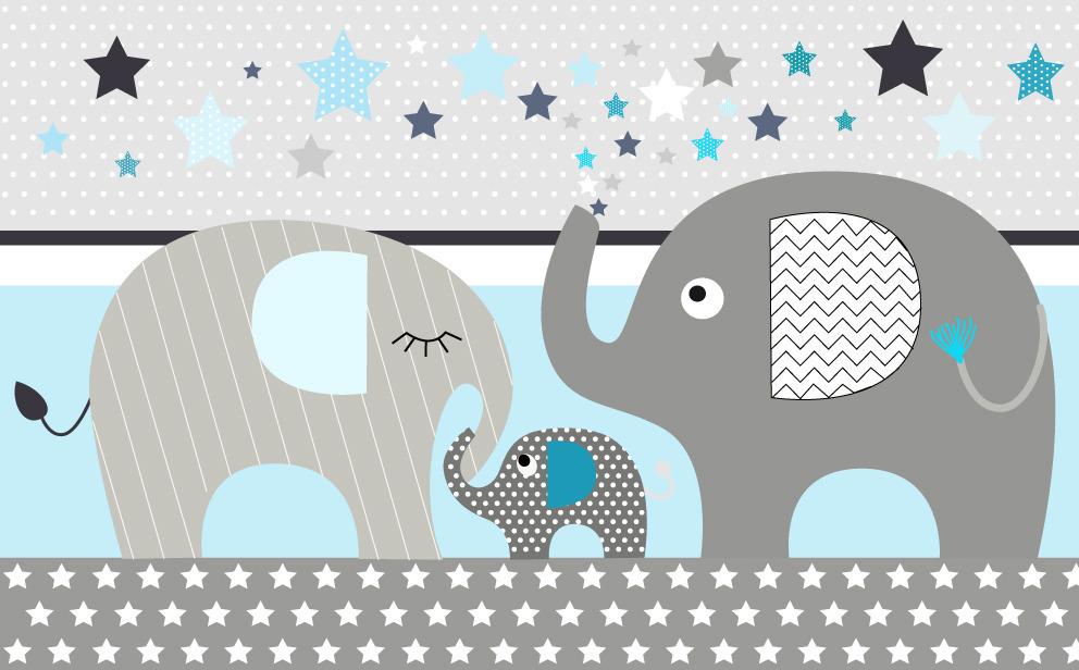 Elephants bleu appli 2