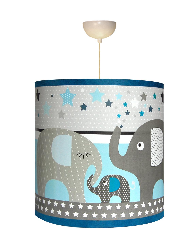 Elephants bleu susp