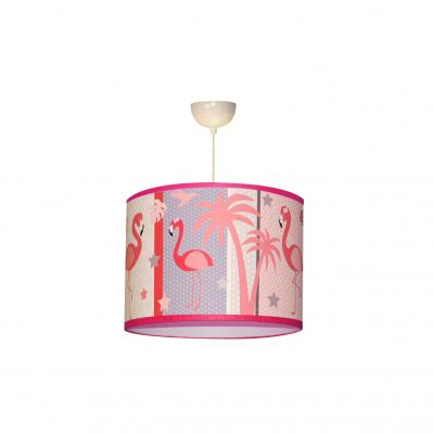 "Suspension ""Le flamant rose"""