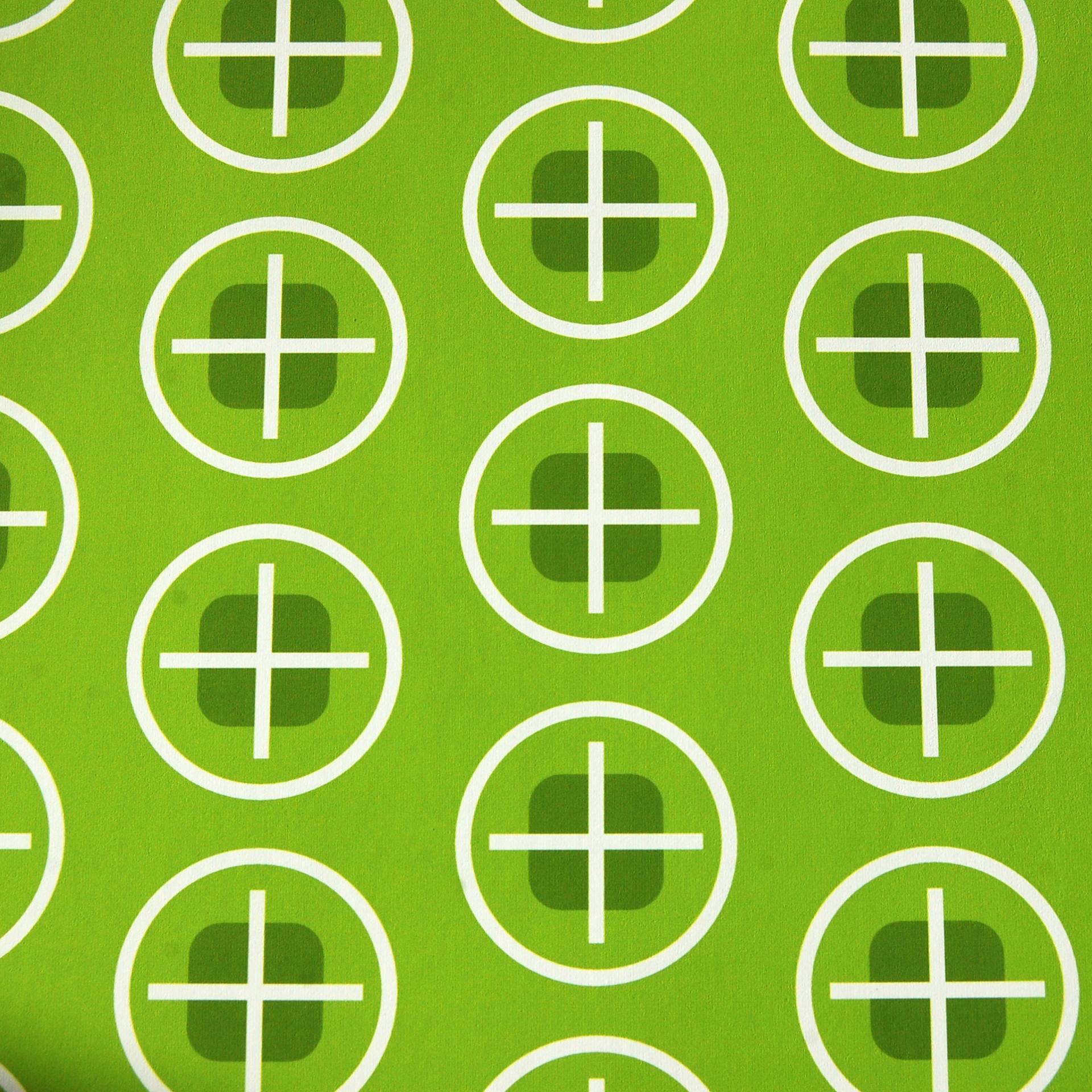 Geometric vert susp 30 cm 3