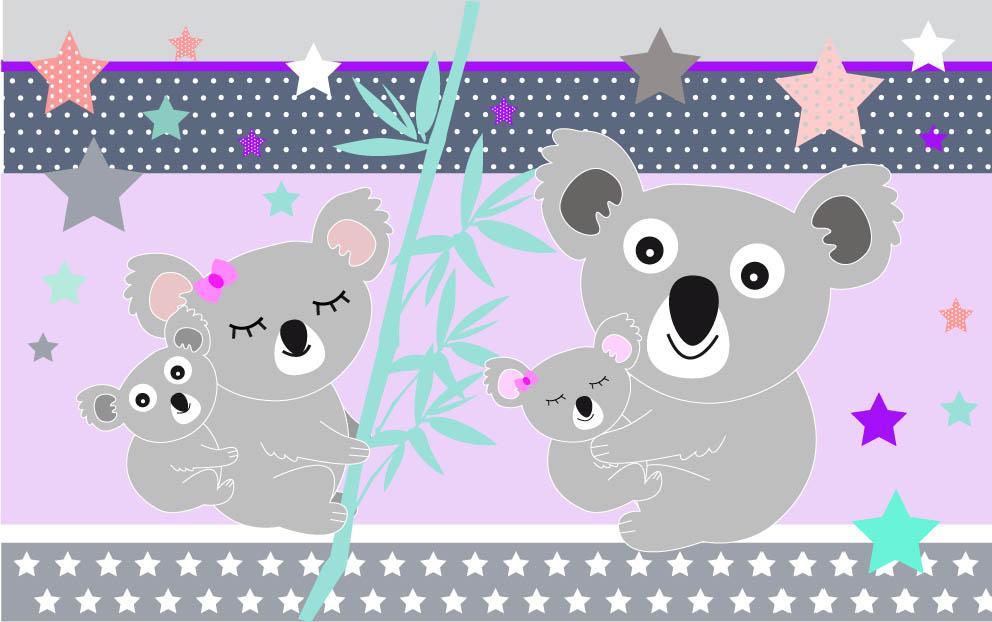 Koala violet 2