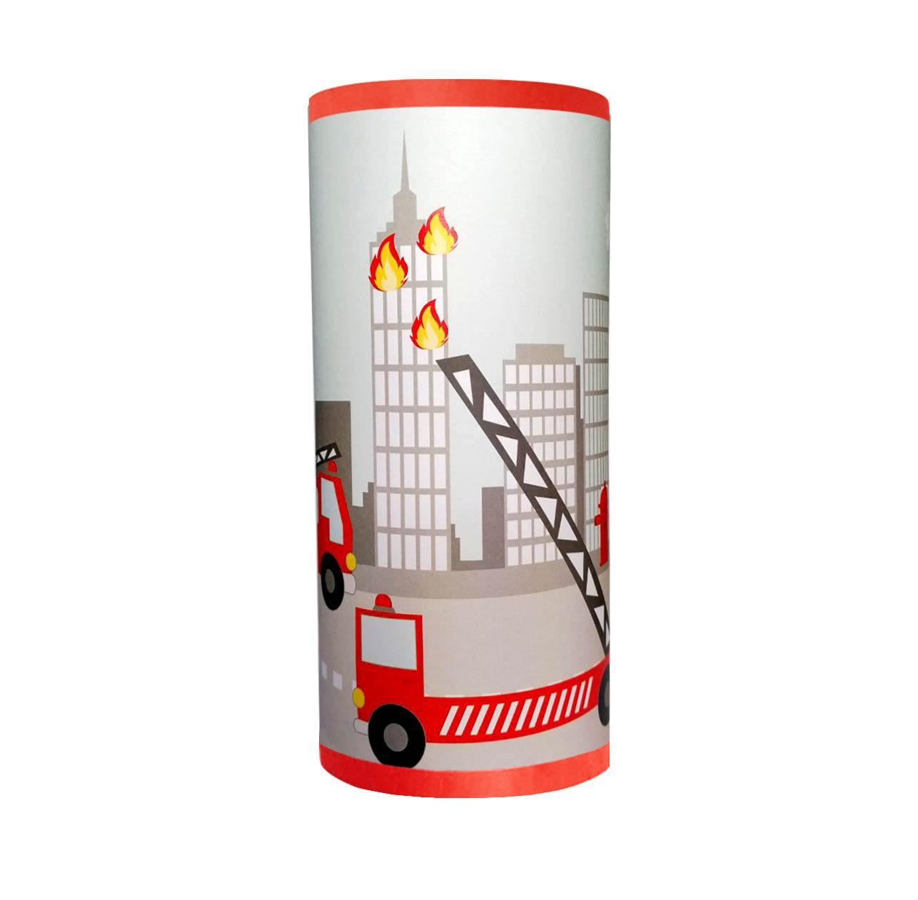 Pompier lampe tube 2